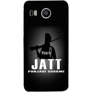 FUSON Designer Back Case Cover For LG Nexus 5X :: LG Google Nexus 5X New (Gary Hothi Jatt Soorme Punjabi Song Movie Famous)
