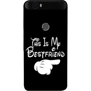 FUSON Designer Back Case Cover For Huawei Nexus 6P :: Huawei Google Nexus 6P (Friends Always Together Dosti Yaari Masti Maja Fun)