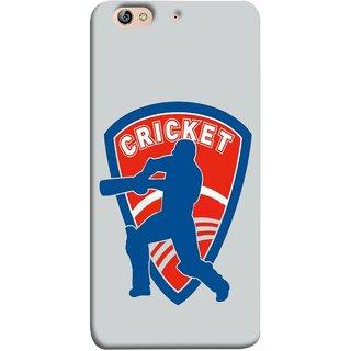 FUSON Designer Back Case Cover For Gionee Elife S7 (County Cricket India Aus England Bat Ball Batsman)