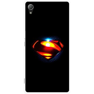 Snooky Printed Super S Mobile Back Cover For Sony Xperia Z3 - Black