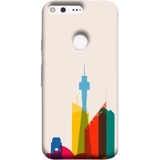 FUSON Designer Back Case Cover For Google Pixel (Industrial Best Wallpaper Design India America Asia Uae)