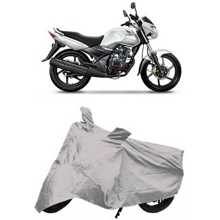 De Autocare Premium Quality Silver Matty Two Wheeler Bike Body Cover For Honda CB Unicorn