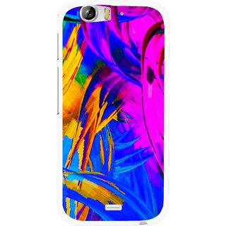 Snooky Printed Color Bushes Mobile Back Cover For Micromax Canvas Turbo A250 - Multi