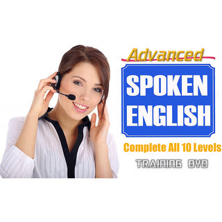 Advanced Spoken English Complete All 10 Levels Training DVD