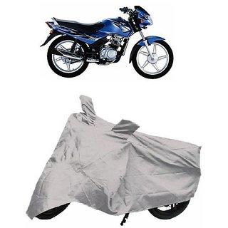 De Autocare Premium Quality Silver Matty Two Wheeler Bike Body Cover For TVS  Star Sports