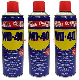 WD-40 MAINTENANCE SPRAY RUST REMOVAL,400ML(PACK OF 3)