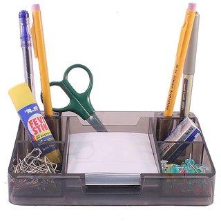 kebica Compartment Desk Organizer With Memopad Pen Stand