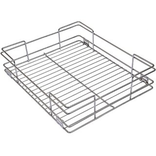 Kitchen Basket (14 In X 20 In X 4 In Silver)