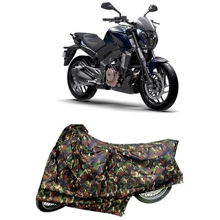 De Autocare Premium Quality Junglee Matty Two Wheeler Bike Body Cover For Bajaj Dominar 400