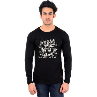 Dfh Black T-Shirt Full Sleeves