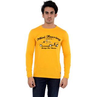 Dfh Yellow T-Shirt Full Sleeves