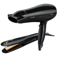 Philips HP8646 Hair Straightener Black + Philips HP8646 Hair Dryer Black
