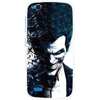 Snooky Printed Freaking Joker Mobile Back Cover For Gionee Elife E3 - Multi