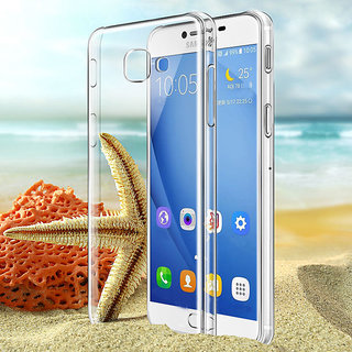 Samsung Galaxy J7 Max High Quality Ultra-Thin Transparent Back Cover.