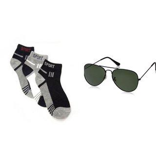 Home Fluent 1 Pair Ankle Socks 1 Sunglas