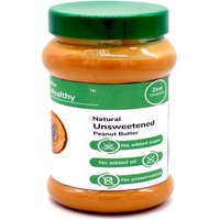 RunHealthy All Natural Unsweetened Peanut Butter 500g