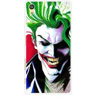 Snooky Printed Joker Mobile Back Cover For Sony Xperia Z5 - Multi