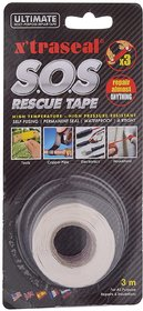 Waterproof Silicone Tape/Xtraseal Rubber Rescue White Tape 20cm Lenght