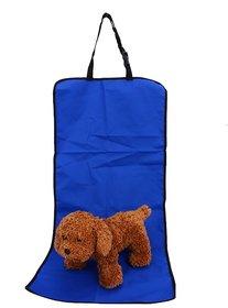Futaba Portable Waterproof Pet Car Seat Cover - Blue -