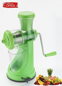 Jen Prime Green Plastic Manual Hand Juicer