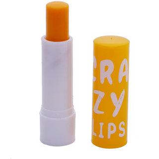 Skyedventures Crazy lip's Yellow Color Lip Balm (Sky-016)