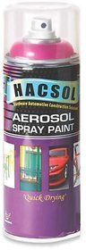 Fluorescent Spray Paint / Hacsol Aerosol Fluorescent Red Spray Paint  Made In Malaysia.