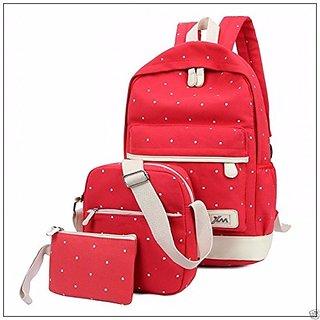 3d4a4203cce Buy Aeoss Women School Bag College Wind Women's Backpack Canvas ...