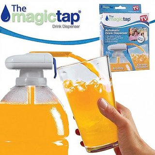 Tuzech Electronic Magic Tap Automatic Spill Proof Drink Plastic Dispenser