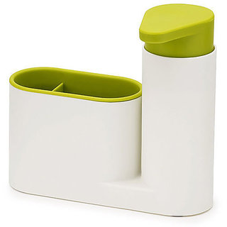 Sink Aid Sponge Holder With Soap Dispenser