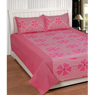 k decor 100 percent cotton besheet (SAN-002)