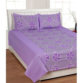 k decor 100 percent cotton besheet (SAN-003)