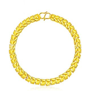 Vorra Fashion Stylish Beautiful Yellow Color Bracelet For Woman's