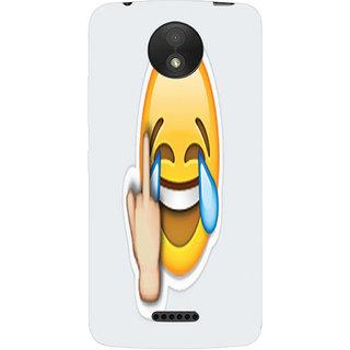 Printgasm Motorola Moto C Plus printed back hard cover/case,  Matte finish, premium 3D printed, designer case