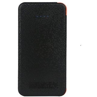 HBNS Ultrathin Black 4000 mah power bank Built in micro usb cable with 3 months manufacturing warranty