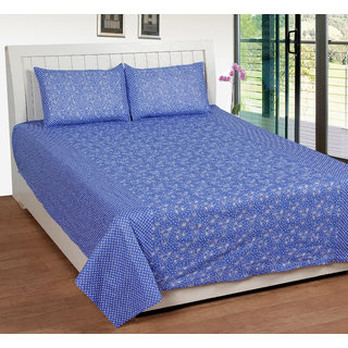k decor 100 percent cotton besheet (SAN-012)