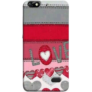 FUSON Designer Back Case Cover For Huawei Honor 4C :: Huawei G Play Mini (Love Birds Couples Forever Full Of Love Pyar Valentine)