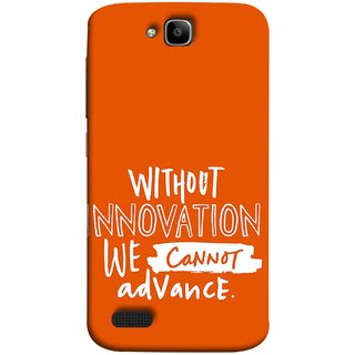 FUSON Designer Back Case Cover For Huawei Honor Holly (Motivational Inspirational Words Quotes Worklife)