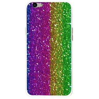 Snooky Printed Sparkle Mobile Back Cover For Oppo F1s - Multi