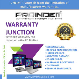 PROINDEM LAPTOP/ DESKTOP/ ALL IN ONE PC 2 years Protection Plan (Device value 10000Rs. to 19900Rs.)