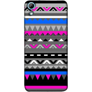 FUSON Designer Back Case Cover For HTC Desire 628 :: HTC Desire 628 Dual Sim  (Tribal Patterns Colourful Eye Catching Verity Different )