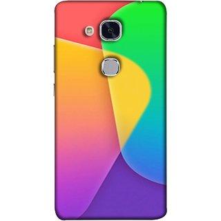 FUSON Designer Back Case Cover For Huawei Honor 5c :: Huawei Honor 7 Lite :: Huawei Honor 5c GT3 (Gliding Mobile Wallpaper Floral Patterns Shining Dark Patterns)