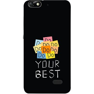 FUSON Designer Back Case Cover For Huawei Honor 4C :: Huawei G Play Mini (Forget The Rest Quotes Happy In Life)