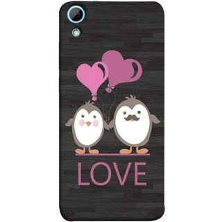 FUSON Designer Back Case Cover For HTC Desire 830 :: HTC Desire 830 Dual Sim (Feeling Loved With Each Other Valentine Day)
