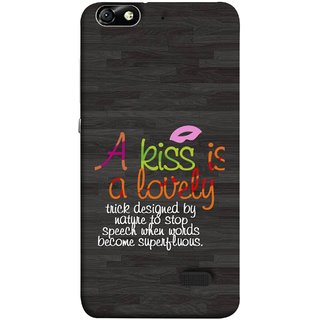 FUSON Designer Back Case Cover For Huawei Honor 4C :: Huawei G Play Mini (Words Superfluous To Stop Speech Become Stop)
