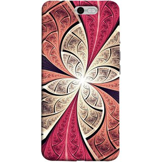 FUSON Designer Back Case Cover For InFocus M812 (Heart Shape Pink Leaves Rivers Artist Perfect Waves )