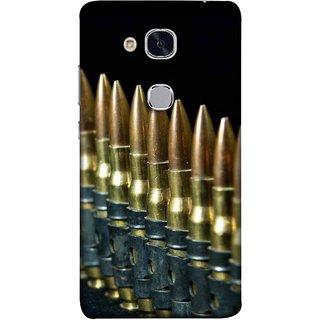 FUSON Designer Back Case Cover For Huawei Honor 5c :: Huawei Honor 7 Lite :: Huawei Honor 5c GT3 (Gun Control Aurora Rounds Ammunition Bullets Guns Ammo)