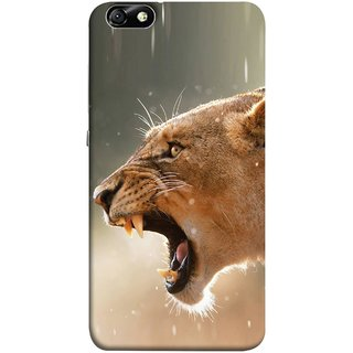 FUSON Designer Back Case Cover For Huawei Honor 4X :: Huawei Glory Play 4X (Tiger Lion Chitta Angrily Looking Killer Hunter Shikari)