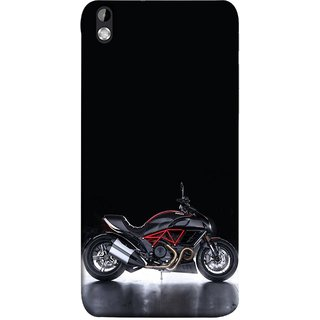 FUSON Designer Back Case Cover For HTC Desire 816 :: HTC Desire 816 Dual Sim :: HTC Desire 816G Dual Sim (Tour Bike Gear Patrol Yamaha Motorbikes And Super Bikes)
