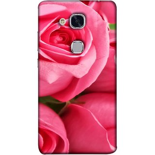 FUSON Designer Back Case Cover For Huawei Honor 5c :: Huawei Honor 7 Lite :: Huawei Honor 5c GT3 (Close Up Red Roses Chocolate Hearts For Valentines Day)