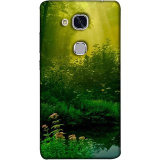 FUSON Designer Back Case Cover For Huawei Honor 5c :: Huawei Honor 7 Lite :: Huawei Honor 5c GT3 (Tropical And Subtropical Coniferous Forests Wallpaper)